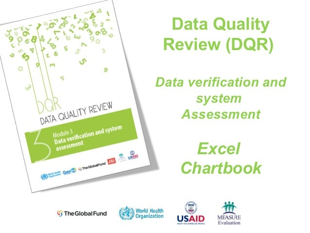 Data Quality Review (DQR) Data verification and system Assessment Excel Chartbook