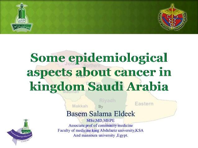 By Basem Salama Eldeek MSc,MD,MHPE Associate prof of community medicine Faculty of medicine king Abdulaziz university,KSA ...