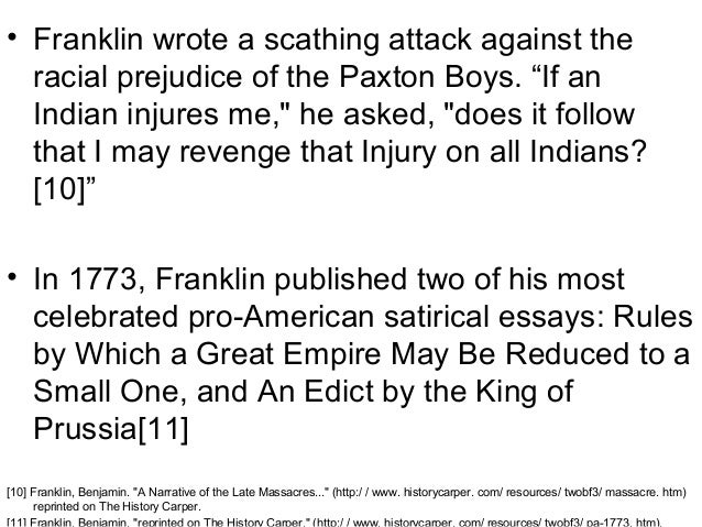 Science Fiction Essays   Franklin  Argumentative Essay Topics On Health also High School Essay Examples Dr Benjamin Franklin Report Barack Obama Essay Paper