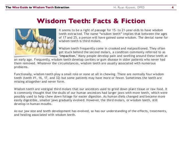 Wisdom ampicillin teeth