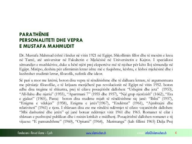 Dr. mustafa mahmud pre...