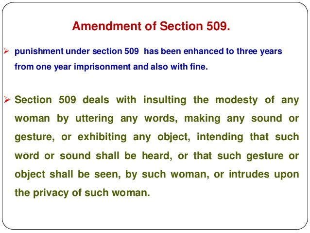 section 375 ipc amendment