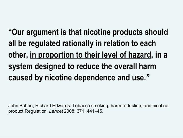 Dr  Lars M  Ramstom, Stockholm Sweden on Emerging Tobacco