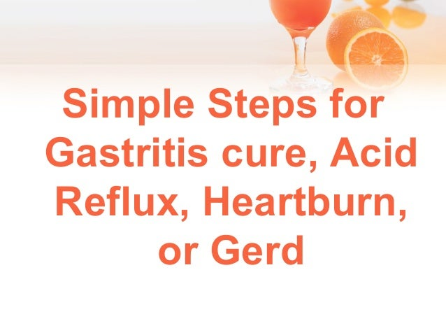 Natural Cure For Heartburn And Gerd