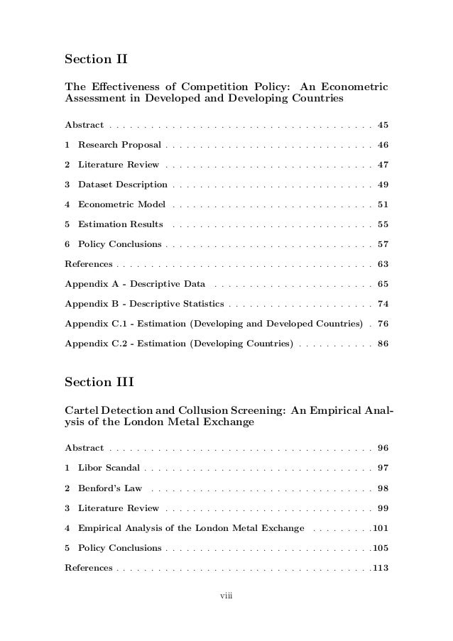 analysing different theories of competition economics essay Theory competition and selectivity  the aim of this paper is to  explore the link between publication selectivity and theory contests this link is  confirmed through the analysis of 87 distinct empirical economics literatures,  involving more than three and a half thousand separate empirical studies,.