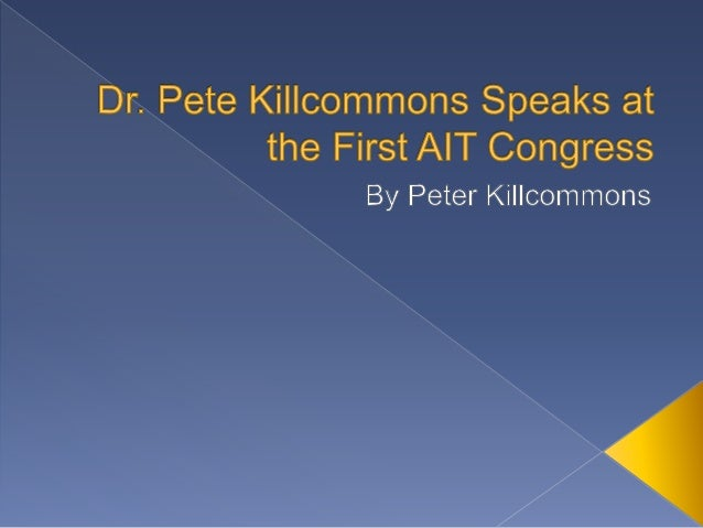 Medical doctor and CEO of San Francisco, California's Medweb, Dr. Pete Killcommons was honored to present the keynote addr...
