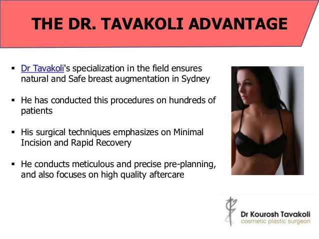 Dr Tavakoli – The Renowned Specialist of Breast Procedures
