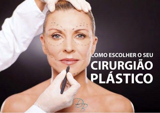 INTRODUÇÃO A cirurgia plástica no Brasil passou por uma grande evolução, o que transformou o país em referência mundial ne...