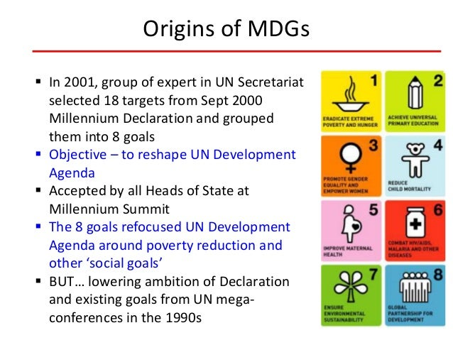 an analysis of millennium development goals The global mobilization behind the millennium development goals has produced the most successful anti-poverty movement in history the landmark commitment entered into by world leaders in the year 2000 to 'spare no effort to free our fellow men, women and children from the abject and dehumanizing .