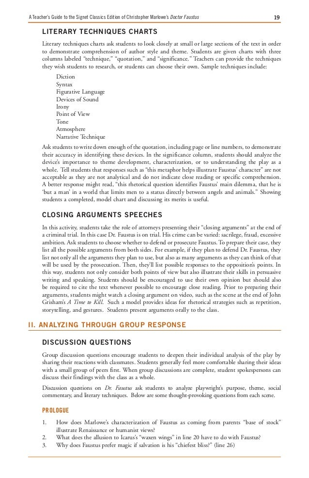 Doctor faustus essay prompts case study research dissertation