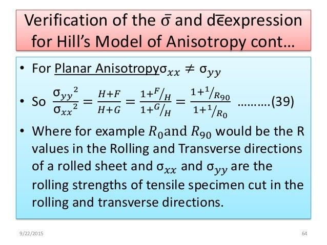 Dr R Narayanasamy Anisotropy Of Sheet Metals