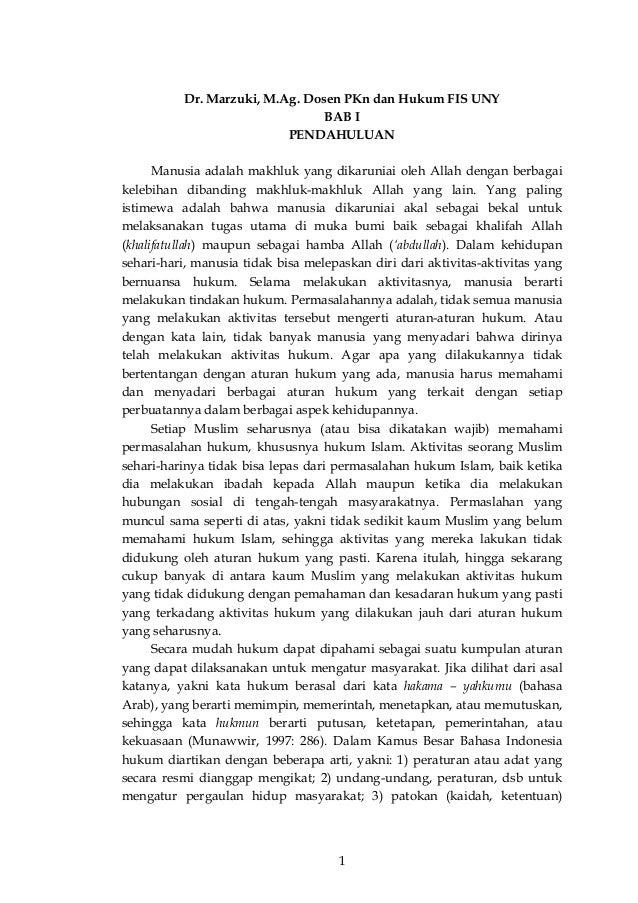 Hukum islam pdf buku