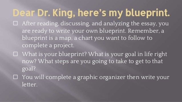 dr martin luther king blueprint create an illustration about 9