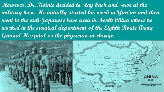 It was while working with the soldiers that Dr. Kotnis lost his heart to a Chinese woman, Guo Qinglan. They were working i...