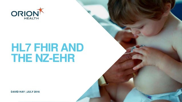 itx presentation: FHIR and the New Zealand EHR