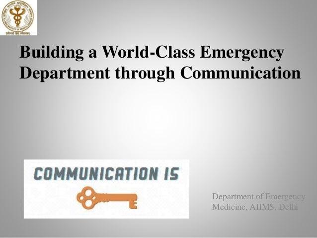 Communication Skills in High-Stake Environment Slide 2