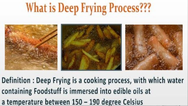 The Positive Attributes Required Of Edible Oil Used In Deep Frying  Applications