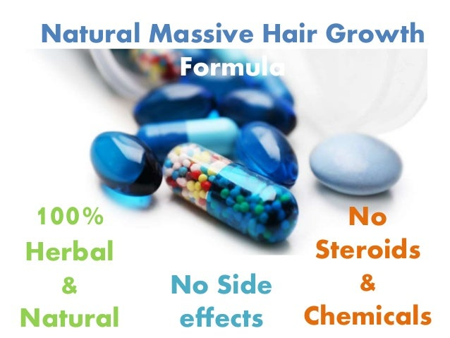 Natural Massive Hair Growth Formula 100% Herbal & Natural No Side effects No Steroids & Chemicals
