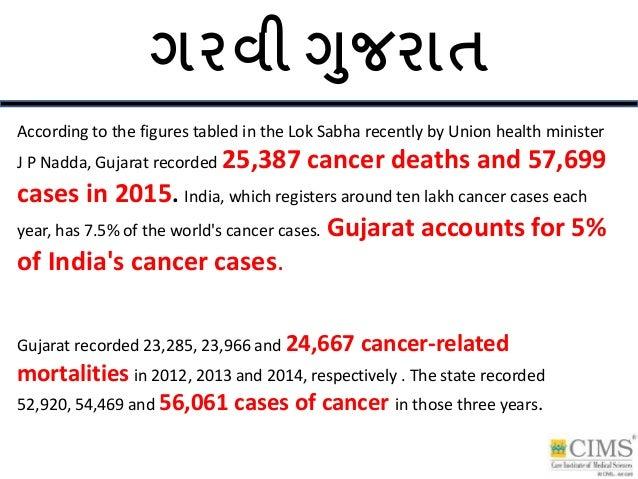ગરવી ગુજરાત According to the figures tabled in the Lok Sabha recently by Union health minister J P Nadda, Gujarat recorded...