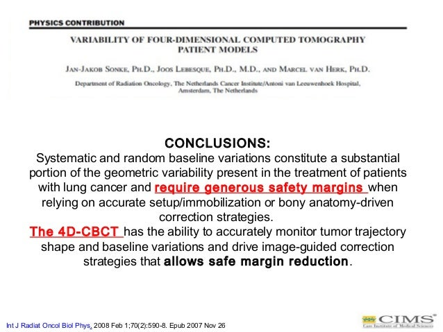 CONCLUSIONS: Systematic and random baseline variations constitute a substantial portion of the geometric variability prese...