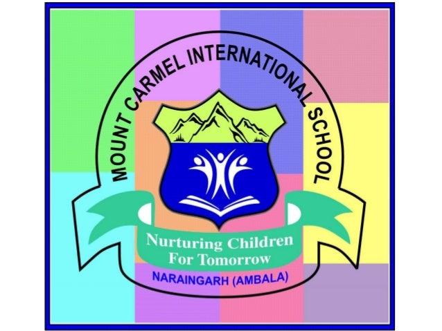 "MOUNT CARMEL INTERNATIONAL SCHOOL NARAINGARH (AMBALA) ""Where there is a MCI Women there is a magic"""