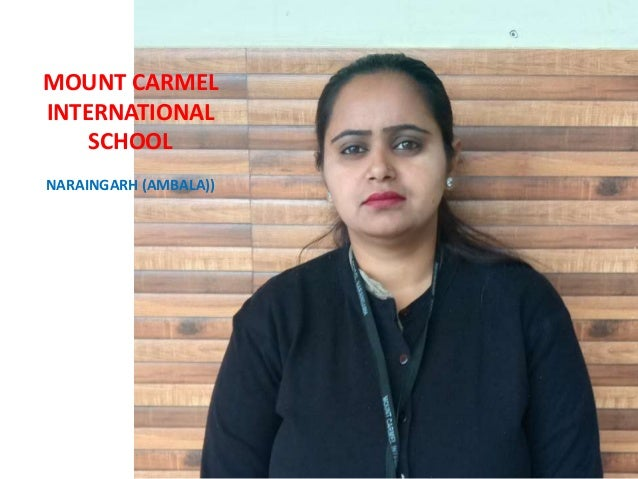 WOMEN HOOD IS ALL ABOUT BEING YOU, SO ENJOY EVERY SECOND OF BEING YOU MOUNT CARMEL INTERNATIONAL SCHOOL NARAINGARH (AMBALA...