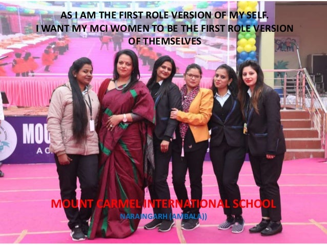 Dr.harleen kaur a tribute to my women staff on  #women day #mountcarmelnaraingarh
