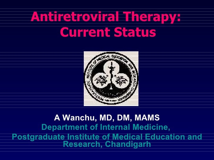 A Wanchu, MD, DM, MAMS Department of Internal Medicine,  Postgraduate Institute of Medical Education and Research, Chandig...
