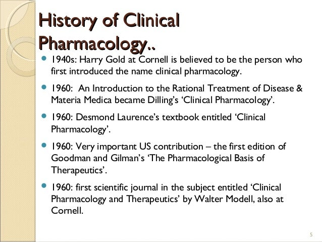 principles of clinical pharmacology pdf