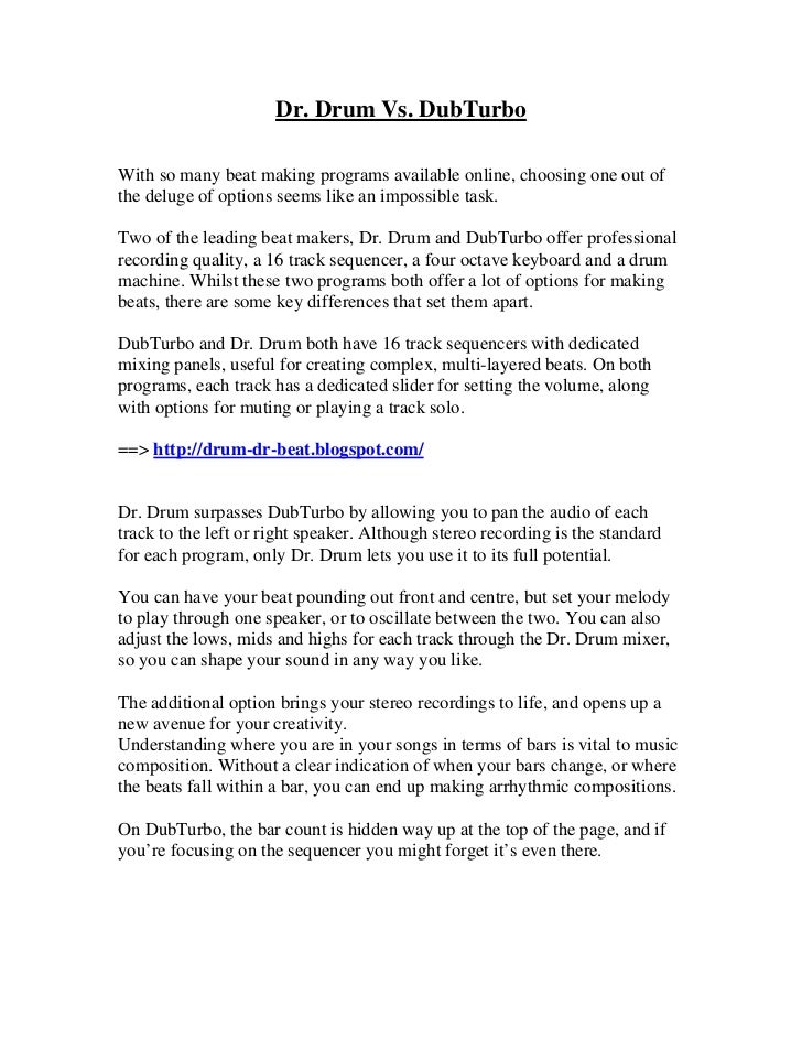 dr drum vs dubturbo dr drum beat making software free download. Black Bedroom Furniture Sets. Home Design Ideas