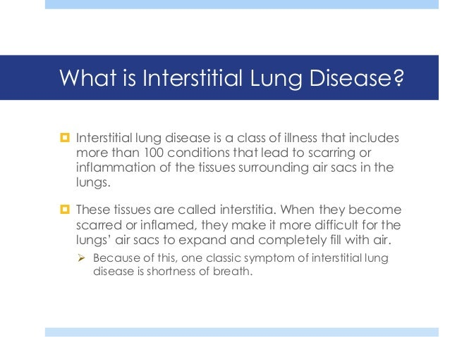dr gary hunninghake presentsan introduction to interstitial lungdiseases 2