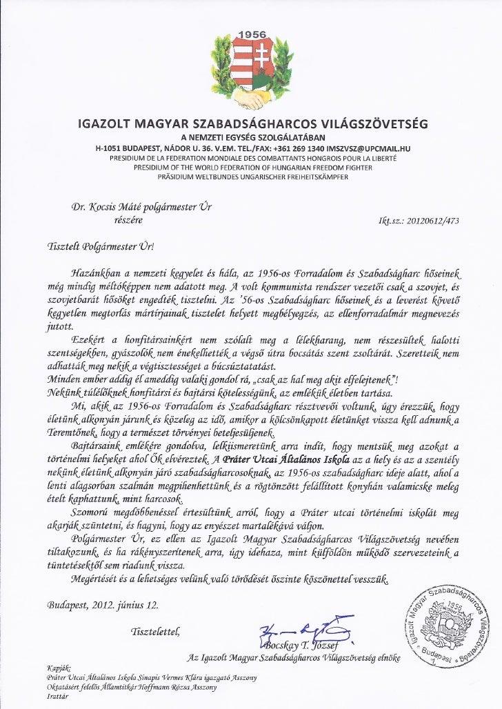 Dr. Kocsis Máté polgármester úr