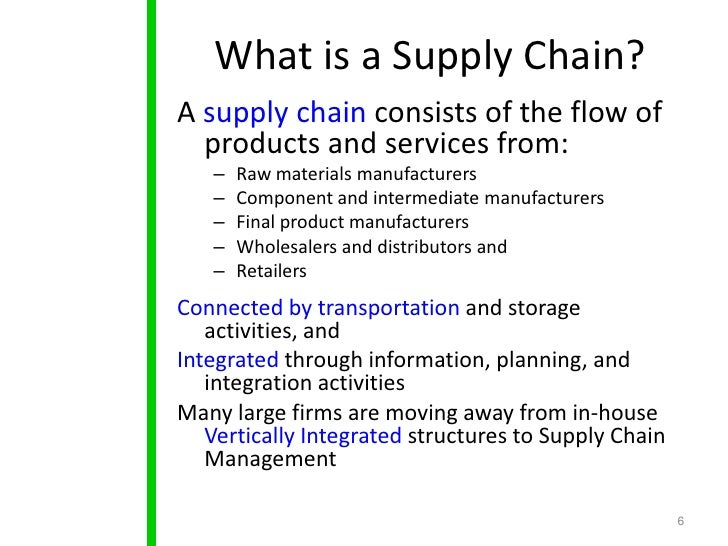 How to Develop an Effective Supply Chain Strategy