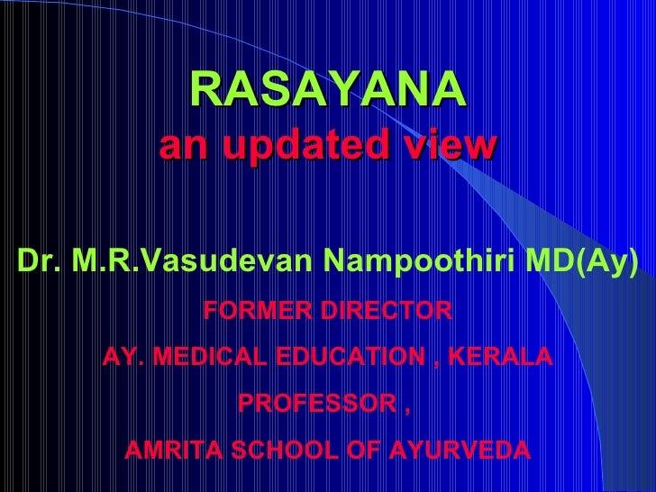 Dr. m.r.vasudevan nampoothiri   wac Slide 2