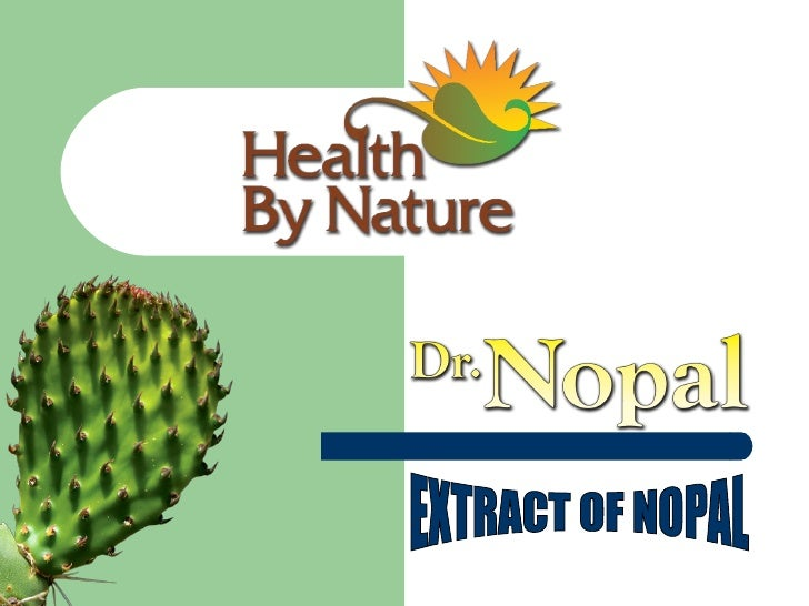 EXTRACT OF NOPAL