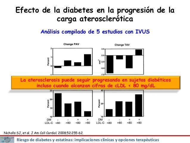 Impacto clínico de la diabetes en el riesgo cardiovascular