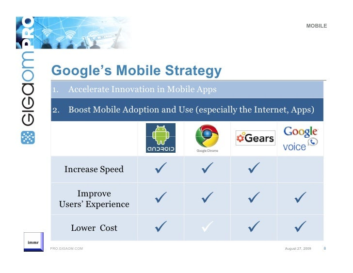 googles strategy Google's strategy is new, but the concept of a google smartphone isn't.