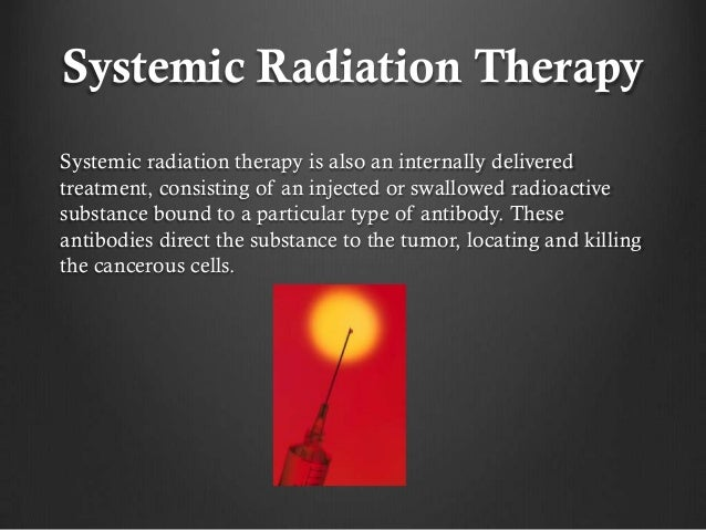 Dr Randy Heysek On Radiation Therapy