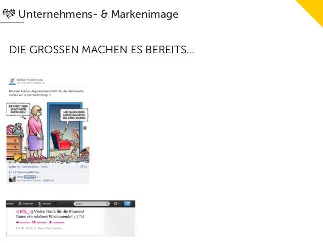 Unternehmens- & MarkenimageDIE GROSSEN MACHEN ES BEREITS...