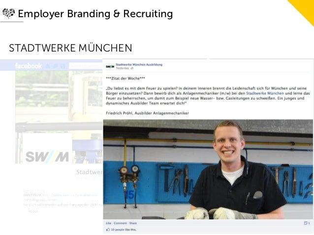 Employer Branding & RecruitingSTADTWERKE MÜNCHEN