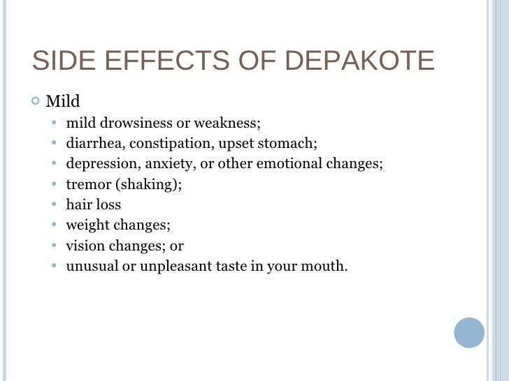 Depakote Er Side Effects Bipolar