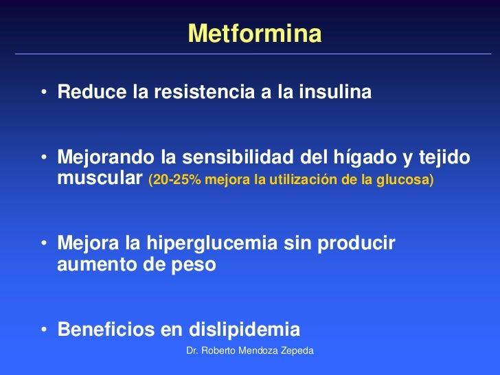 Dr. Roberto Mendoza Fisiopatología de la DMT2