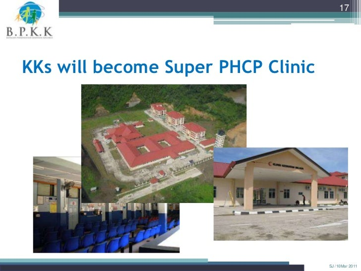 17KKs will become Super PHCP Clinic                                    SJ /10Mar 2011