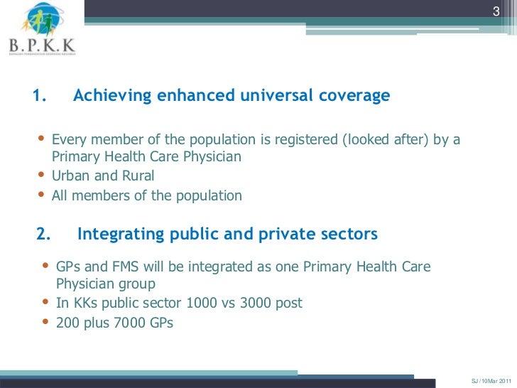 Dr.+safurah+ +health+sector+reform+of+primary+care+towards+1 care Slide 3