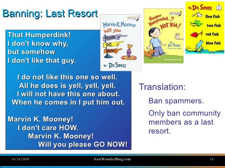 Banning: Last Resort   That Humperdink!  I don't know why,  but somehow  I don't like that guy.     I do not like this one...