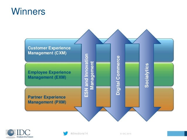#directions14 © IDC 2014 Winners Customer Experience Management (CXM) Employee Experience Management (EXM) Partner Experie...