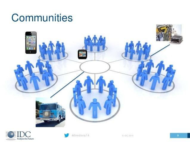 #directions14 © IDC 2014 Communities 9