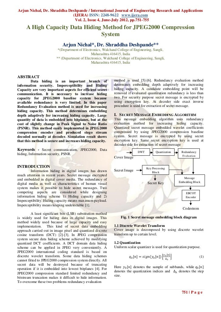 Arjun Nichal, Dr. Shraddha Deshpande / International Journal of Engineering Research and Applications                     ...
