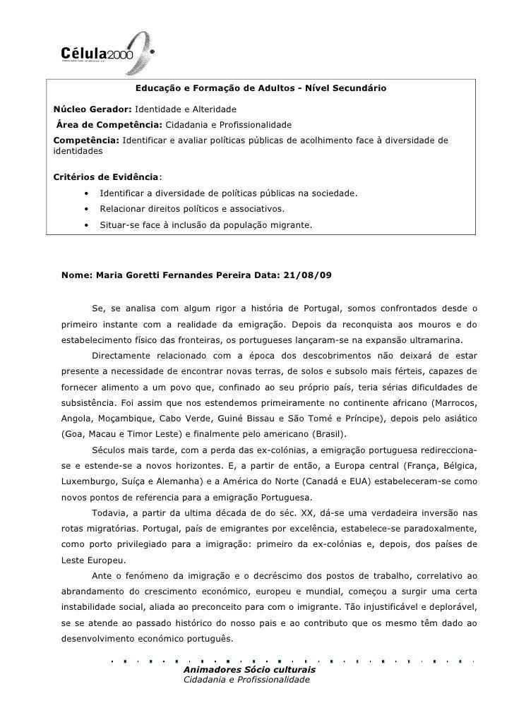 Índice<br />M1   -  Portfólio Reflexivo da Aprendizagem<br />M2   -  Cidadania e Profissionalidade<br />M3   -  Sociedade,...