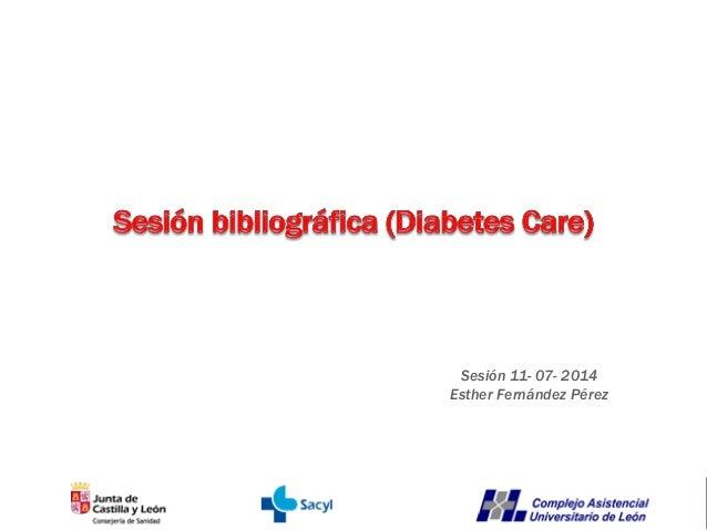 Sesión 11- 07- 2014 Esther Fernández Pérez